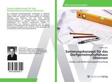 Buchcover von Sanierungskonzept für das Dorfgemeinschaftshaus Ohrensen
