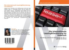 Borítókép a  Die internationale Leasingbilanzierung im Umbruch - hoz