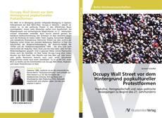 Обложка Occupy Wall Street vor dem Hintergrund popkultureller Protestformen