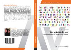 Bookcover of Demokratie lernen