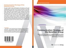 Capa do livro de Communication Strategy of the Benetton Group
