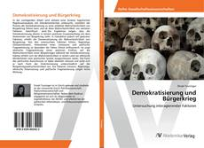 Bookcover of Demokratisierung und Bürgerkrieg