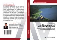 Portada del libro de Konfliktregelung bei Wasserkraftprojekten