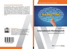 Copertina di Internationale Markenpolitik