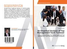 Buchcover von An Empirical Analysis of Top Management Team Turnover