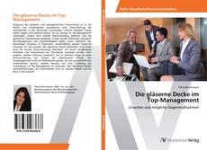 Portada del libro de Die gläserne Decke im Top-Management