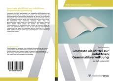 Обложка Lesetexte als Mittel zur induktiven Grammatikvermittlung