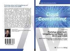 Capa do livro de Prototyp einer IaaS-Umgebung auf Basis von OCCI und CDMI