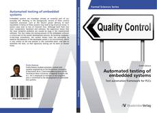 Bookcover of Automated testing of embedded systems