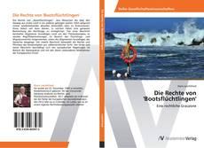 Buchcover von Die Rechte von 'Bootsflüchtlingen'
