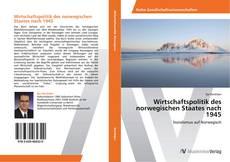 Buchcover von Wirtschaftspolitik des norwegischen Staates nach 1945