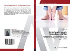 Buchcover von Spracherziehung in Kindertagesstätten
