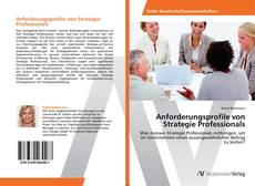 Bookcover of Anforderungsprofile von Strategie Professionals