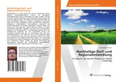 Nachhaltige Dorf- und Regionalentwicklung的封面