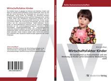 Portada del libro de Wirtschaftsfaktor Kinder