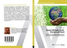 Kwasi Wiredu statt Immanuel Kant kitap kapağı