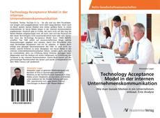 Bookcover of Technology Acceptance Model in der internen Unternehmenskommunikation
