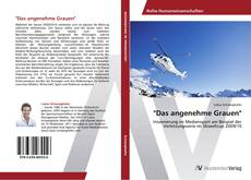 "Bookcover of ""Das angenehme Grauen"""