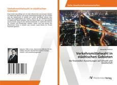 Copertina di Verkehrsmittelwahl in städtischen Gebieten