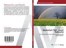 Capa do livro de Mysterium Tod - morti fiabesche