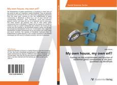 Portada del libro de My own house, my own erf?
