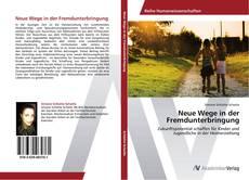 Bookcover of Neue Wege in der Fremdunterbringung
