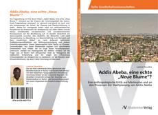 """Buchcover von Addis Abeba, eine echte """"Neue Blume""""?"""