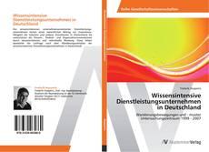 Portada del libro de Wissensintensive Dienstleistungsunternehmen in Deutschland