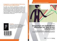 Portada del libro de Integration von behinderten Menschen auf dem ersten Arbeitsmarkt
