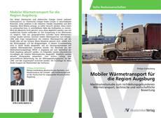 Buchcover von Mobiler Wärmetransport für die Region Augsburg
