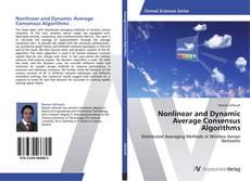 Nonlinear and Dynamic Average Consensus Algorithms kitap kapağı