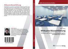 Bookcover of Wirksame Klassenführung