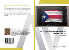 Capa do livro de Die Frage des Nationalismus in Puerto Rico