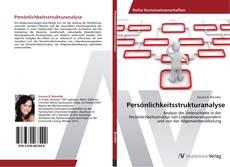 Buchcover von Persönlichkeitsstrukturanalyse