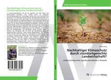 Copertina di Nachhaltiger Klimaschutz durch standortgerechte Landwirtschaft?