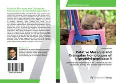 Copertina di Putative Macaque and Orangutan homologues of tripeptidyl-peptidase II