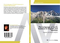 Обложка The Language of Earth Sciences in English and German