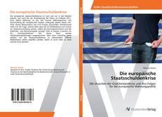 Buchcover von Die europäische Staatsschuldenkrise