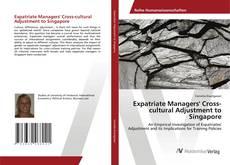 Capa do livro de Expatriate Managers' Cross-cultural Adjustment to Singapore