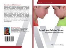 Gewalt von Schüler/-innen kitap kapağı