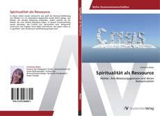 Buchcover von Spiritualität als Ressource