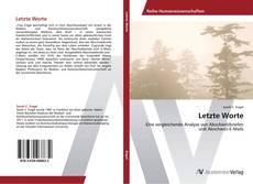 Bookcover of Letzte Worte
