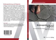 Buchcover von Bindungsstörung und Stigmata