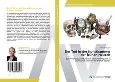 Der Tod in der Kunstkammer der frühen Neuzeit kitap kapağı