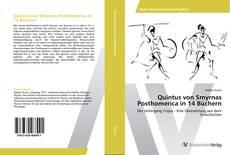 Buchcover von Quintus von Smyrnas Posthomerica in 14 Büchern