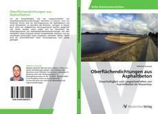 Bookcover of Oberflächendichtungen aus Asphaltbeton