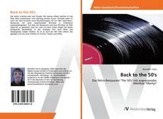 Buchcover von Back to the 50's