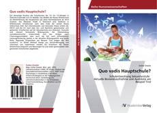 Buchcover von Quo vadis Hauptschule?