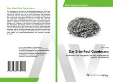Portada del libro de Das Erbe Paul Goodmans