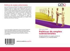 Bookcover of Politicas de empleo subnacionales